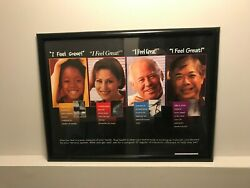Chiropractic Patient Education Retention Wellness Poster Rare Sold Out