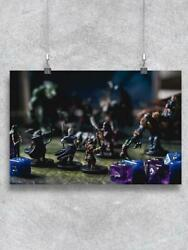 Board Game With Miniatures Poster -image By Shutterstock