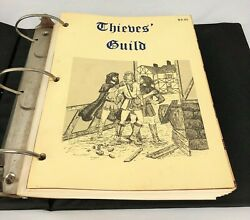 Gamelords Thieves Guild Rpg 1st Edition Game Books Collection I Ii Iii V