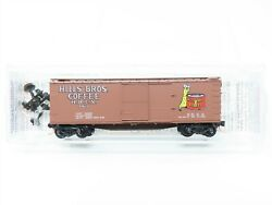 N Scale Micro-trains Mtl 42100 Hbcx Hills Brothers Coffee 40' Boxcar 163