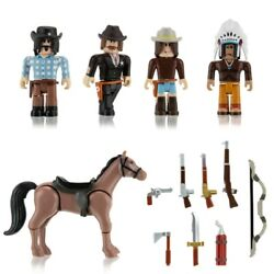 Roblox Wild West Series 9 Action Figures Model Toy And In-game Code And Accessories
