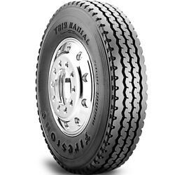 4 Firestone T819 12r22.5 Load H 16 Ply All Position Commercial Tires