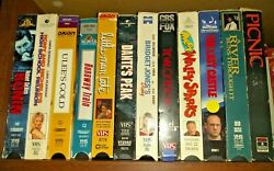 Lot Of 11 Vhs Tapes Mixed Movies Or Buy Just The Sleeves Art Project Repurpose