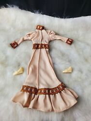 1976 Cher Mego Doll Montgomery Ward Exclusive Cloth Version Cherokee Dress Shoes