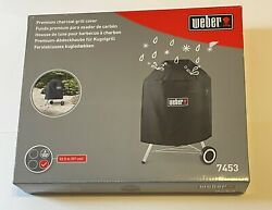 Genuine Weber 7453 Premium Kettle Cover Fits 22.5-inch Charcoal Grills