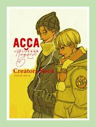 Brand New Acca 13-territory Inspection Dept Anime Creators Book Japan