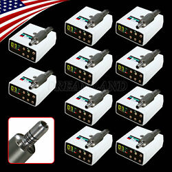 Dental Led Brushless Electric Micro Motor Fit Nsk 11/15/161 Contra Angle
