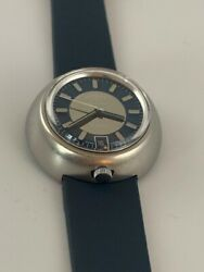 Very Rare 1970s Rotary Bullhead As 1913 Automatic Vintage Swiss 37mm Watch
