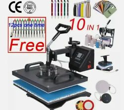 10 In 1 Combo Heat Press Machine Sublimation Puerto Rico Shipping Only