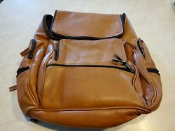 Leather Backpack Men#x27;s or Women#x27;s $75.00