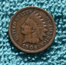 1906 Indian Head Cent - See My Other Listings To Save Shipping