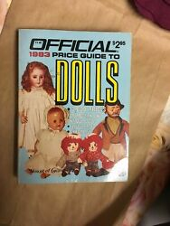 Official 1983 Price Guide To Dolls 3000 Prices A057ss