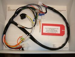 Suzuki Gt550 And039mand039 Model Replica Front And Rear Main Wire Harness