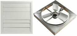 Whole House Fan Master Flow 4500 Cfm 24 In. Direct Drive With Shutter 2 Speed