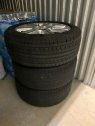 Set Of 4 Pirelli Tires With Rims Great Treading And Stored In Ac Warehouse.