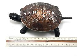 Antique Turtle Shaped Desk Bell 7.4800, Made In Germany Ar4527