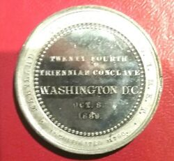 Pgasteelers1washington,d.c.1889 Maryland Commandery 1 24th Tri. Conclave K.t.