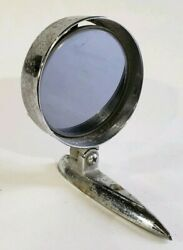 Vintage 1950#x27;s Yankee Metal Products Corp Exterior Tinted Swivel Mirror USA