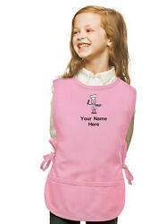 Personalized Kids Cobbler Apron Pink Monogrammed for Boy amp; Girl Chefs $23.99