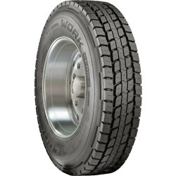 4 New Cooper Work Series Rhd 285/75r24.5 Load G 14 Ply Drive Commercial Tires