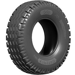 4 New Gri Green Ex Rib 3 10.0/75-15.3 Load 18 Ply Tractor Tires