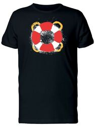 Cool Grunge Lifebelt Lifebuoy Tee Menand039s -image By Shutterstock