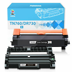2x Dr730 Tn760 Tn730 Toner Drum For Brother Hl-l2350dw Hl-l2370dw Mfc-l2710dw