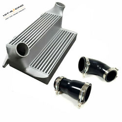 7.5 Stepped Intercooler+silicone Couplers Clamps Kit Fit 135i 335i 335xi 3.0l