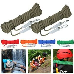 Outdoor Hiking Accessories Professional Rope Rock Climbing Cord Safety Ropes