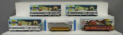 Athearn And Bachmann Ho Assorted Passenger Cars [5]/box