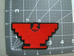 Red Outline United Farm Workers Patch Huelga Bird Patch Ufw Patch Huelga Patch