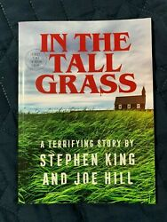 In The Tall Grass, Stephen King / Joe Hill Unsigned, Independent Bookstore Day