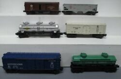 Lionel Vintage O Postwar Freight Cars 6415, 6472, 6456, X2458, 6465 And 6468 [6]