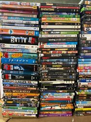 Huge Wholesale Lot Of 100 Mixed Dvds - Includes Sets And Series Marvel Disney