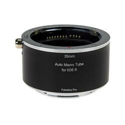 Fotodiox Pro 35mm Automatic Macro Extension Tube For Canon Rf Mount Milc Cameras