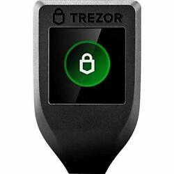 Trezor Model T Next Generation Crypto Hardware Wallet With Lcd Color Touchscreen