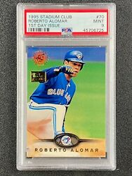 1995 Stadium Club 1st Day Issue Roberto Alomar Psa 9 Toronto Blue Jays