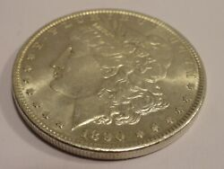 Us Morgan Silver Dollar 1890 Coin Fast Free Shipping See Pictures