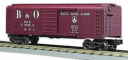 30-7429 Mth O Gauge Railking Rounded Roof Box Car