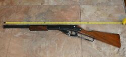 Vintage Rare Daisy Bb Gun Model 102 Wood Stock And Wood Hand Grip Working