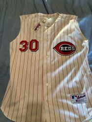 Russell Athletic Authentic Griffey Cinn Reds Baseball Jersey New 48 Xl Mlb Nwt👌
