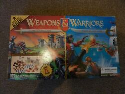 1997 Pressman Weapons And Warriors Castle Storm / Pirate Clash Game New + Sealed