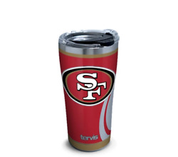 San Francisco 49ers Rush Stainless Steel Wide Mouth Bottle With Deluxe Spout Lid