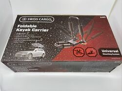 Swiss Cargo Foldable Kayak Carrier Rack Universal Quick Release Fits Most Kj03