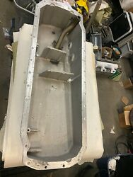 Cummins Qsm11 Oil Pan 4059954 Used / Good Condition / Sold As Pictured Please E
