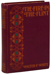 Fire In The Flint By Walter F. White First Edition 1st 1924 Harlem Renaissance