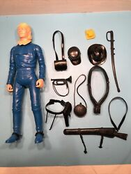 Vtg 1968 Marx Johnny West General Custer Figure 16 Accessories Euc W/manual