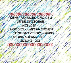 Mens Mixed Clothes - Uk S-3xl Choose The One You Want From The Drop Bar