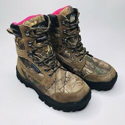 Itasca Womenandrsquos Boot Thinsulate Ultra Camouflage Waterproof Size 7