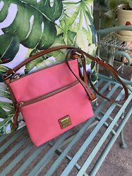 Dooney and Bourke Pink Leather Crossbody $40.00